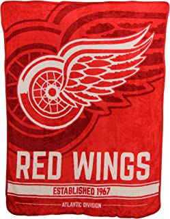 The Northwest Company NHL Breakaway Super Soft Plush Throw Blanket (Columbus Blue Jackets)