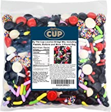 By The Cup Licorice Bridge Mix, Including Pastels, Buttons and More, 2 LB Bag