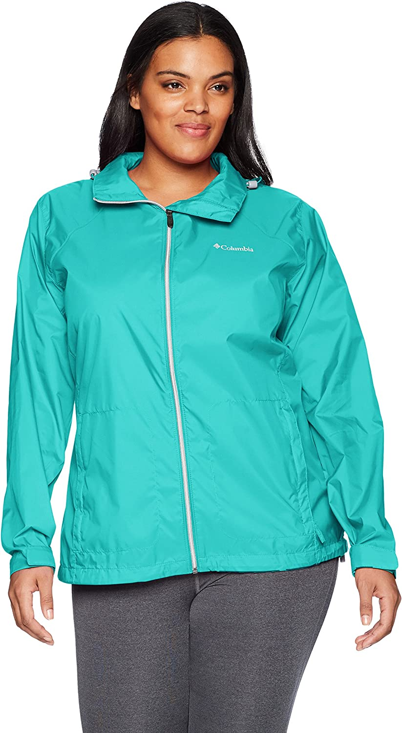 Columbia Woherren Plus Größe Switchback III Jacket, Miami, 3X