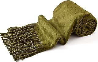 厚实纯色设计棉混纺披肩围巾披肩披肩羊绒 CJ 服饰新款