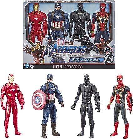 "MARVEL Avengers Issue Titan Hero Série Pack De x4 12/"" action figures"