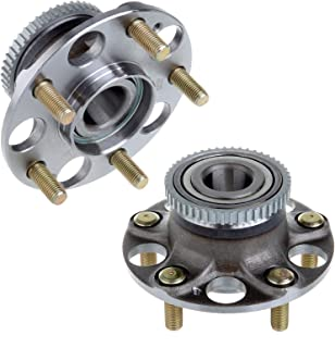 ECCPP Wheel Hub and Bearing Assembly Rear 512188 fit Replacement for Acura TL 2006-2007 Acura TL 2008 Acura TL 2007-2008 Honda Accord 2003-2008 5 Lugs Wheel Bearing Hubs with ABS 1 pcs