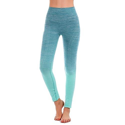 3b5ae6e1ea133d RUNNING GIRL Ombre Yoga Pants Ultrasoft Performance Active Stretch High  Waisted Running Leggings