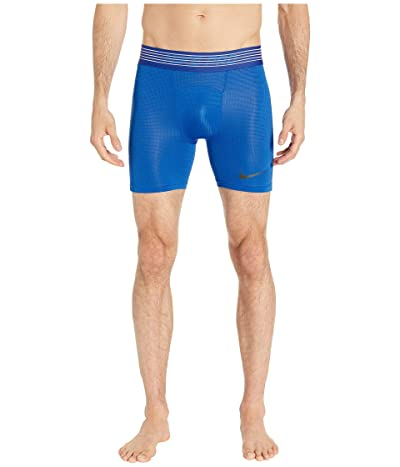 Nike Pro Breath Shorts (Game Royal/Game Royal/Black) Men