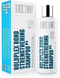 Bold Plex Bond Champú de Proteínas para Cabello Seco y Dañado - Hidratante para Pelo Rizado Seco Teñido Encrespado Dañ...