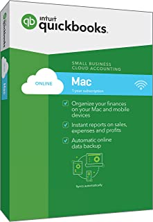 QuickBooks Mac Online 2017 Small Business Accounting Software [Old Version]
