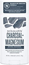 Schmidt's Natural Deodorant for Men and Women, 24 Hour Odor Protection and Freshness Charcoal + Magnesium Aluminum Free, V...
