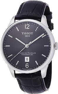 Tissot Men's T0994071644700 Chemin Des Tourelles Powermatic 81 Analog Display Swiss Automatic Black Watch