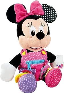 Baby Clementoni- Minnie Peluche Primeros apreNdizajes37x26 aprendizajes, (55206.1)