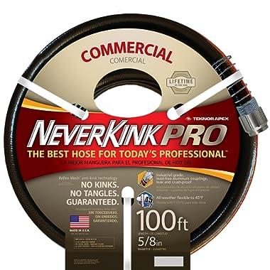 Teknor Apex Neverkink, 8844-100, PRO Water Hose, 5/8-in x 100-feet
