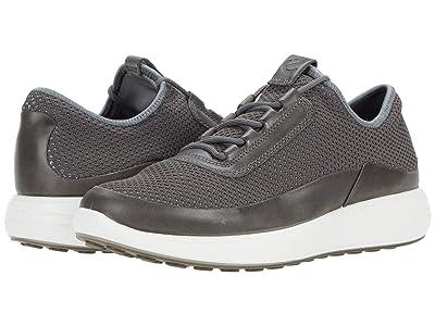 ECCO Soft 7 Runner Summer Sneaker (Titanium/Titanium) Men
