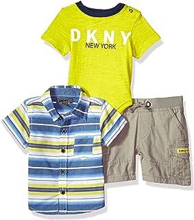 Baby Boys Knit, Sport Shirt and Short Set