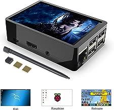 for Raspberry Pi 3 B+ / Pi 3, 3.5 inch Touch Screen with Dual Use Case, 320x480 Pixel Monitor TFT LCD [Support Raspbian, Ubuntu, RetroPie, Kali]