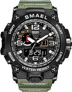 Fashion sport uomini militare impermeabile LED digitale orologio Luxury casual Wristwatch