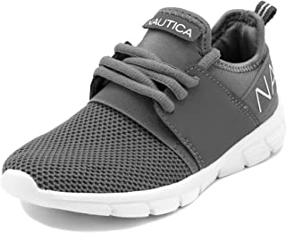 Nautica Kids Boys Lace Up Sneaker Comfortable Running Shoes - Little Kid/Big Kid