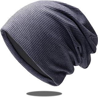 Ehoolpyニット帽ソフトガーゼ 無地 ロールアップワッチ ニットキャップ ビーニー メンズ レディース オールシーズン