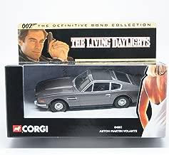 ASTON MARTIN VOLANTE THE LIVING DAYLIGHTS 2001 Corgi Classics 007 The Definitive James Bond Collection 1:36 Scale Die-Cast Vehicle