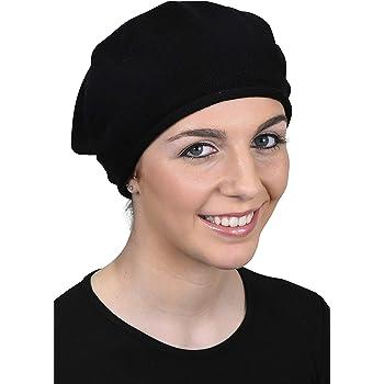 Landana Headscarves Beret for Women 100% Cotton Solid