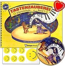 Toplaadapparaat Band 1 - piano school met CD voor kinderen en jongeren van Anike Drabon - voor individuele en groepsonderw...
