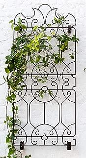 wrought iron garden trellis designs