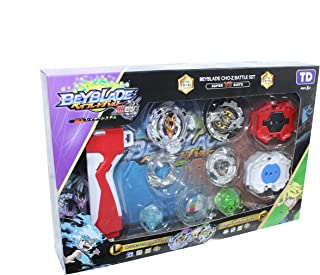 BeyBlade Bee Battle Set with Gun for Boys