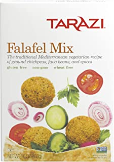Tarazi Falafel Mix | Great as Veggie Burger Mix, Non-GMO, Kosher, All Natural, Made In California | Original Falafel Mix, 1 Pound Box