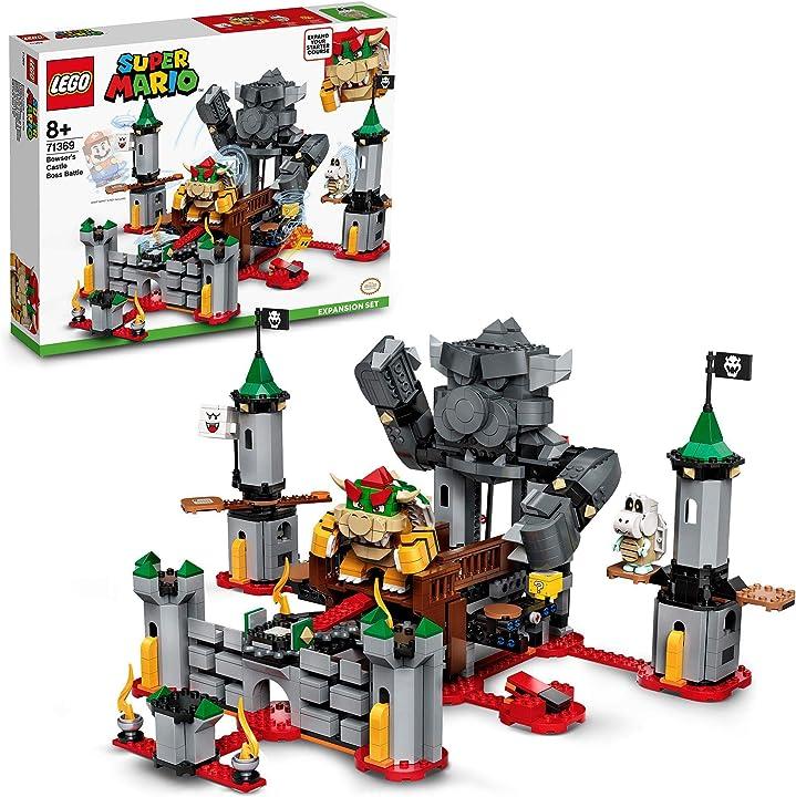 Super mario lego battaglia finale al castello di bowser - pack di espansione giocattolo set di costruzioni  ?71369