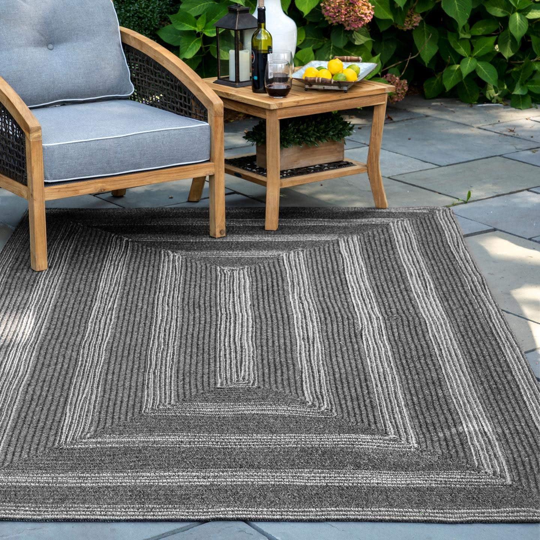 nuLOOM Tegan Super intense SALE Textured Solid Indoor Outdoor x 8' 5' Ova Area Rug Popular brand in the world