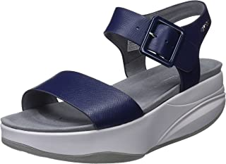 MBT Shoes Women's Manni 2 Sandal Leather Buckle