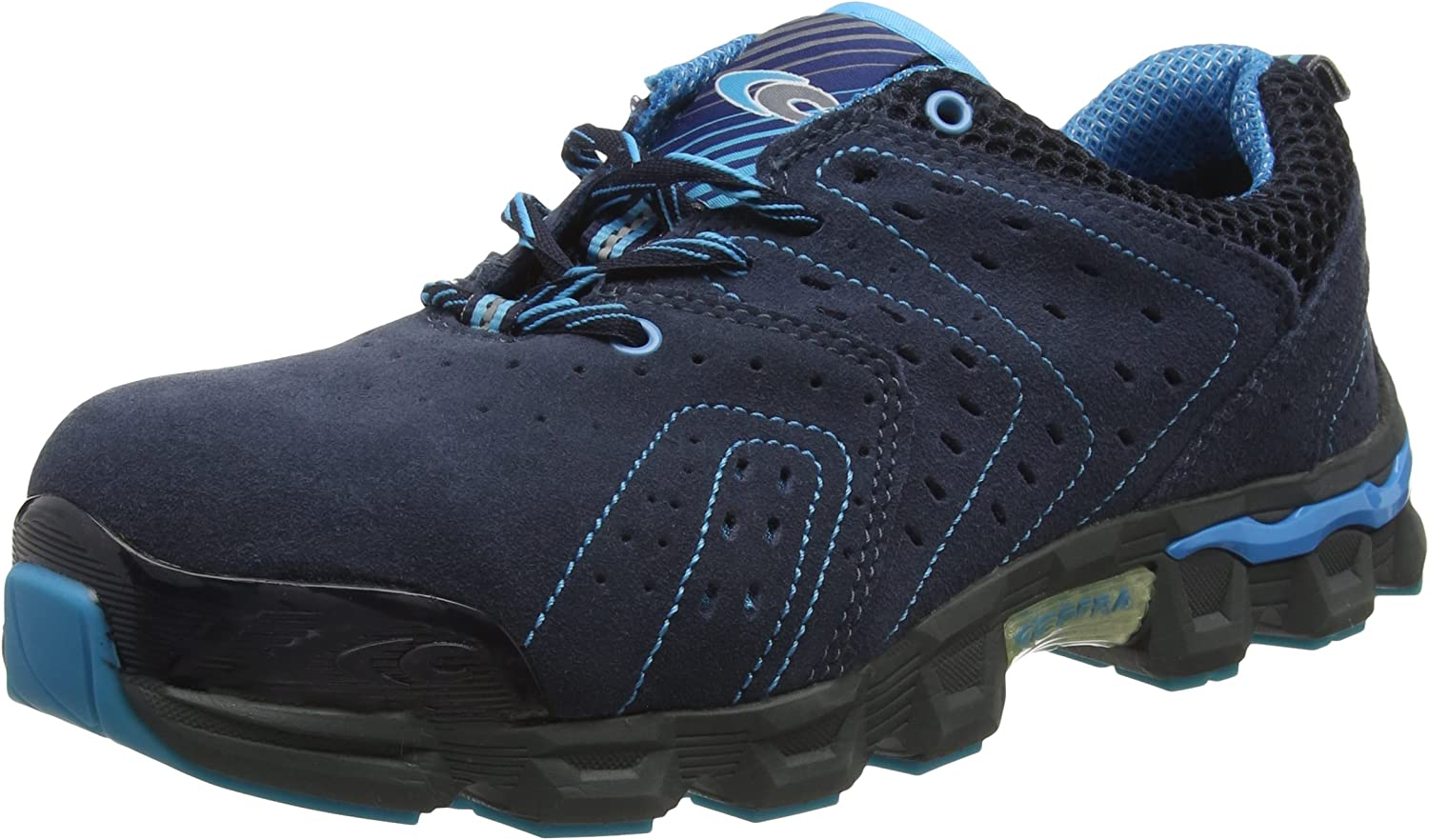 Cofra JE021-000.W40 Size 40 S1 P SRC Diving  Safety shoes - bluee