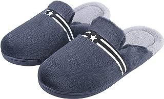 Irsoe Comfortable Indoor/Outdoor Winter Fur Slippers |Mens Flipflop |Mens Winter Slippers |Boys Slippers flip Flop