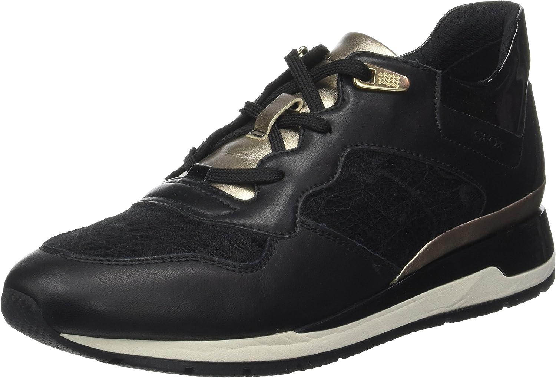 Geox Women's D Shahira B Low-Top Sneakers