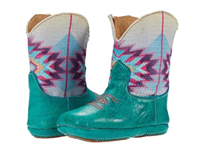 Roper Kids Cowbaby Mayan (Infant/Toddler) (Blue) Girls Shoes