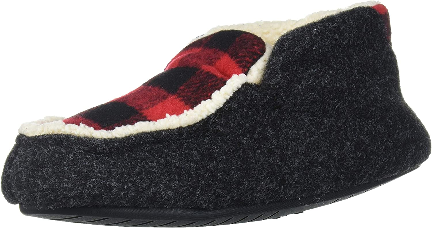 Dearfoams Unisex-Child Mason Kids Felted Boo Max 84% OFF and Plaid Microwool Ranking TOP5