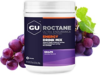 GU Energy Roctane Ultra Endurance Energy Drink Mix, 1.72-Pound Canister, Grape