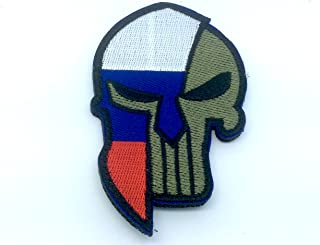 Ryssland rysk Gladiator flagga broderad airsoft paintball lapp