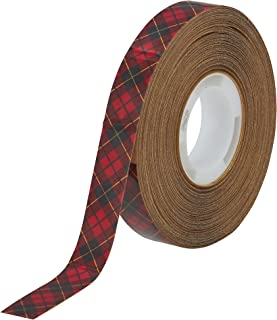 Scotch ATG Adhesive Transfer Tape 969 Clear, 0.50 in x 18 yd 5.0 mil (Pack of 1)