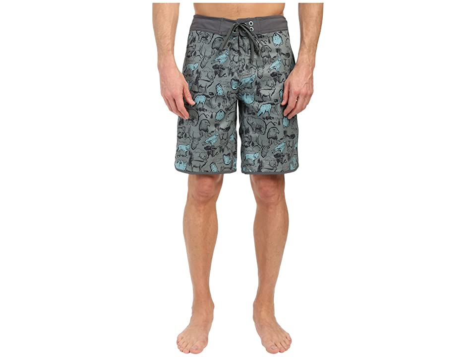 The North Face Whitecap Boardshorts (Laurel Wreath Green Wildlife Print (Prior Season)) Men
