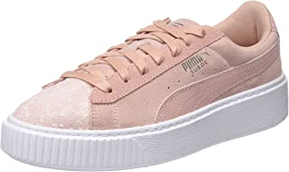 Puma Women's Suede Platform Pebble WN's Low-Top Sneakers