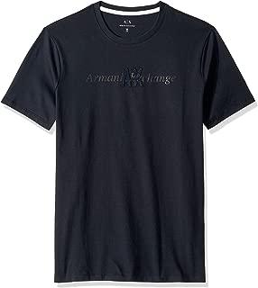 A|X Armani Exchange Men's Short Sleeve Crew Neck Logo T-Shirt