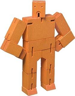 Micro Cubebot Brain Teaser Puzzle, Orange