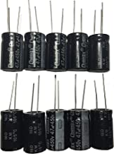 47uF 450V 16X25 +/-20% +105℃ 10 PCS Aluminum Electrolytic Capacitors