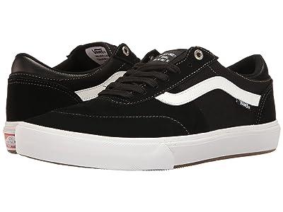 Vans Gilbert Crockett Pro 2 (Black/White) Skate Shoes
