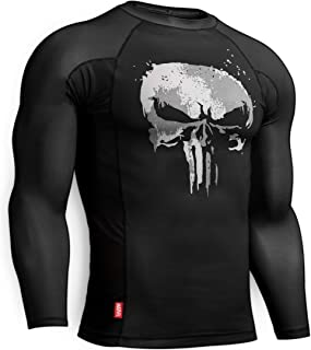Hayabusa Rash Guard | Marvel The Punisher Long Sleeve Rash Guard | Men Women