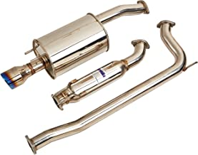 Invidia (HS06HC4G3T) Q300 70mm Cat-Back Exhaust System with Titanium Rolled Tip for Honda Civic Si Sedan