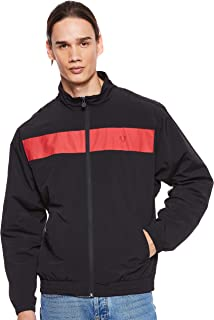 Fred Perry Men Panelles Shell Suit Jacket
