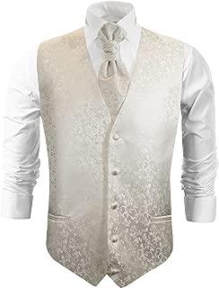 Ivory Wedding Tuxedo Vest Set