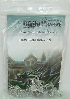 BH020 Goblin Rabble (12) ゴブリンの群衆 12体セット ブライトヘブン 15㎜スケール メタルフィギュア [並行輸入品]
