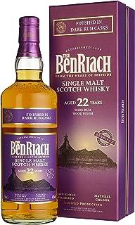 Benriach 22 Years Old Dark Rum Wood Finish mit Geschenkverpackung Whisky 1 x 0.7 l