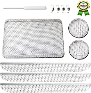 RV Bug Screen, Stainless Steel Mesh RV Water Heater Screens with Installation Tool, 20